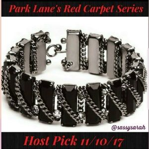 Park Lane Emmy Red carpet hematite cuff bracelet